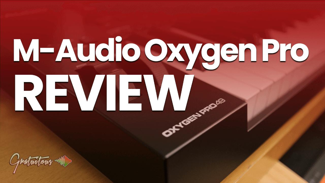M-Audio Oxygen Pro 49 Review for FL Studio