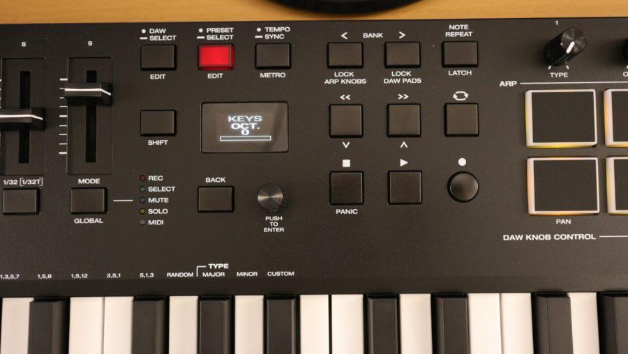 M-Audio Oxygen Pro 49 - Transport Buttons